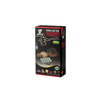 Chaga Mushroom + Black Gold ® Black Garlic Capsules